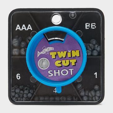 Black Dinsmores Twin Cut Shot, Non Toxic, 5 sizes