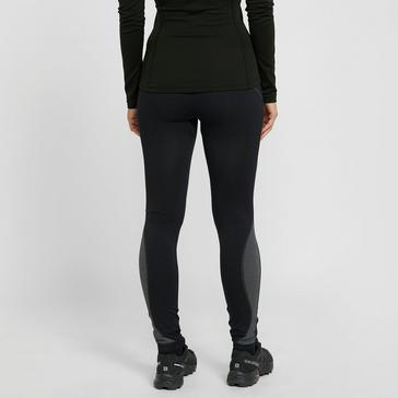 Black The Edge Women's Flow Form Baselayer Tights