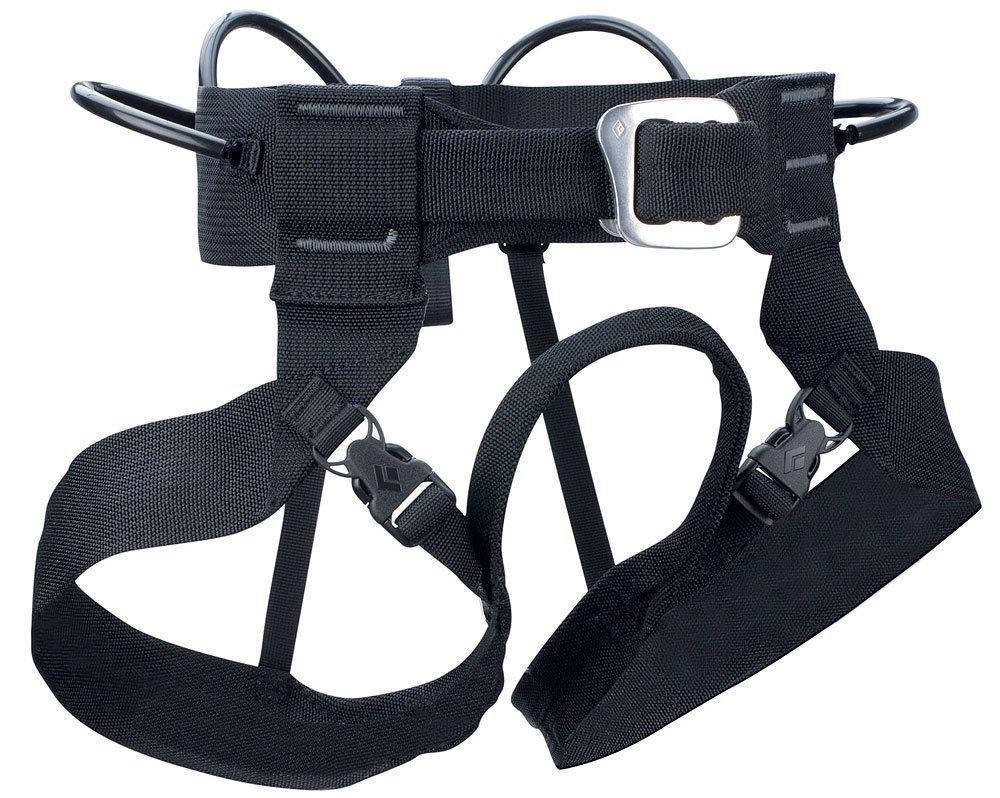 Black Diamond Alpine Bod Harness - Black, Black