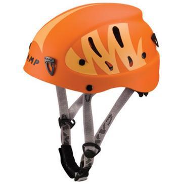 Orange Camp Armour Junior Helmet