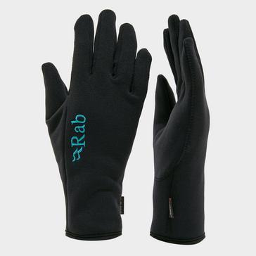 BLACK Rab Powerstretch Women's Glove