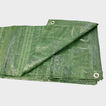 Green HI-GEAR 12 x 8 Groundsheet