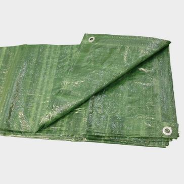 Green HI-GEAR 6 x 8 Groundsheet