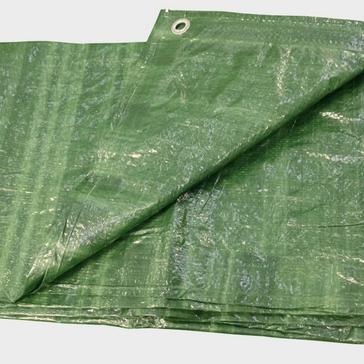 Green HI-GEAR 13 x 10 Groundsheet