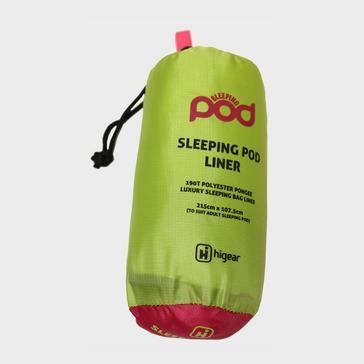 Green HI-GEAR Sleeping Pod Liner