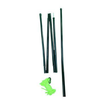 Green HI-GEAR Upright Extension Poles