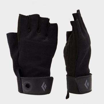 BLACK Black Diamond Crag Half-Finger Gloves