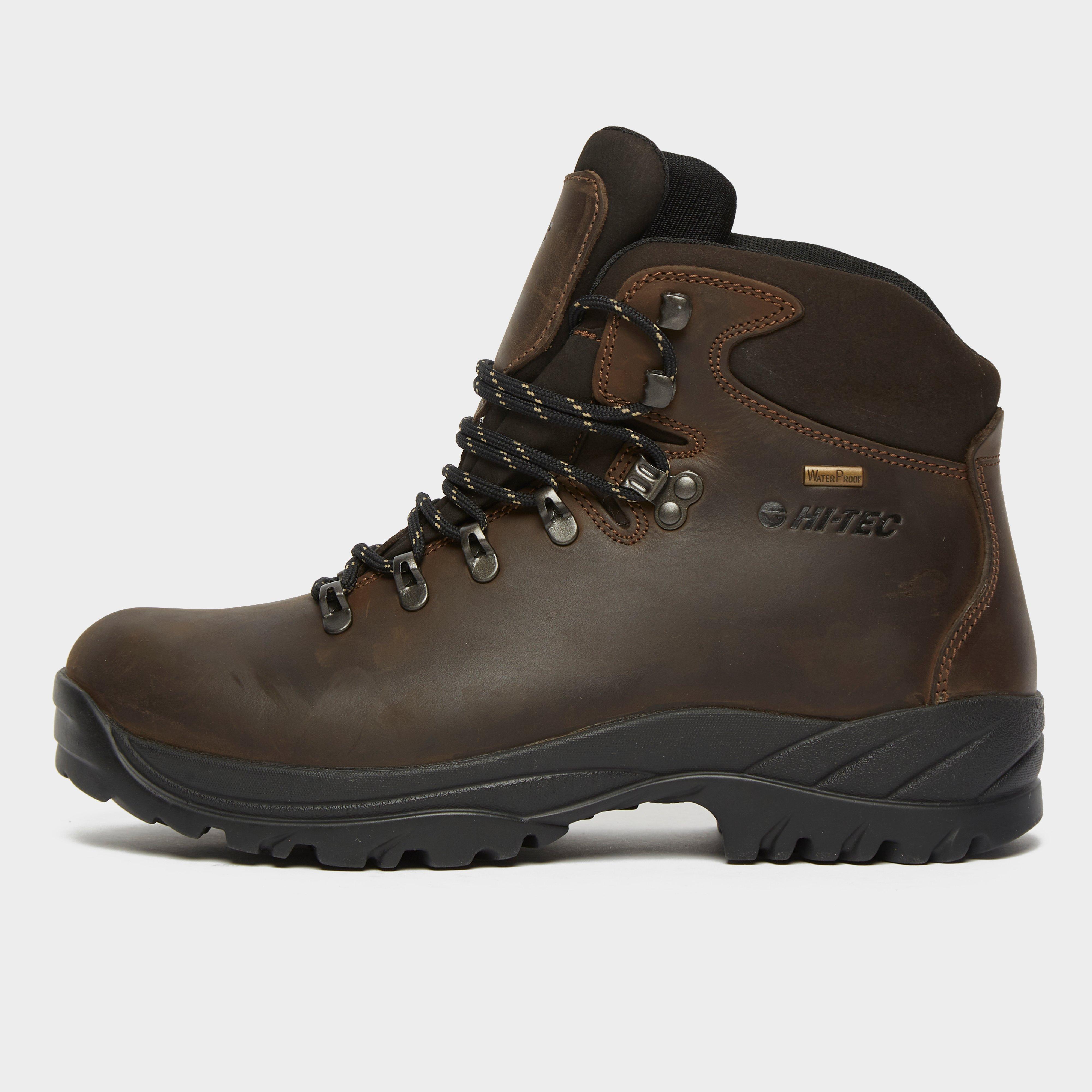 Hi Tec Hi Tec Mens Summit Waterproof Hiking Boots, Brown