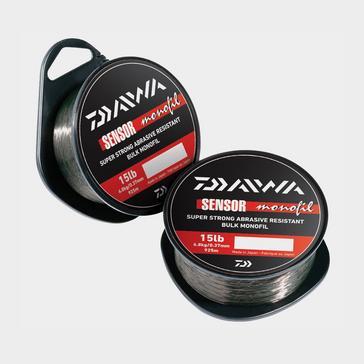 Black Daiwa Daiwa Sensor Monofil 300m 15lb