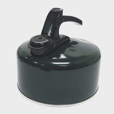 BLACK HI-GEAR 2-Litre Aluminium Whistling Kettle