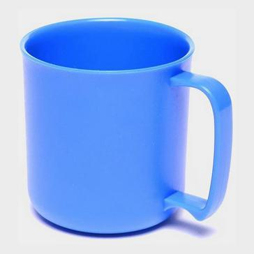 BLUE HI-GEAR Plastic Mug