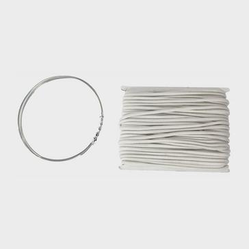 White HI-GEAR Shock Cord Repair Kit