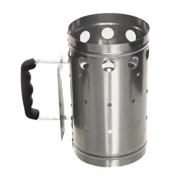 Silver HI-GEAR BBQ Charcoal Starter