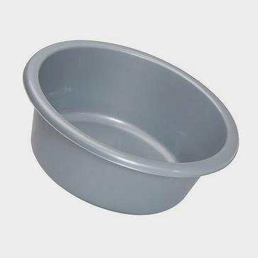 grey Quest Round Silver Bowl (28cm)