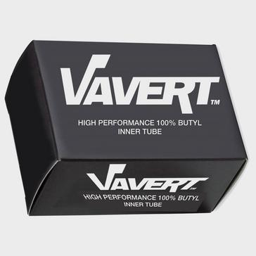 Black Vavert 700 x 18/25C Presta (60mm) Innertube