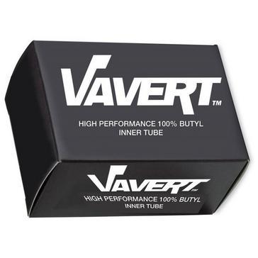 Black Vavert 700 x 25/32C Presta (60mm) Innertube