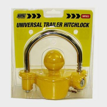 yellow Maypole Universal Trailer Hitchlock