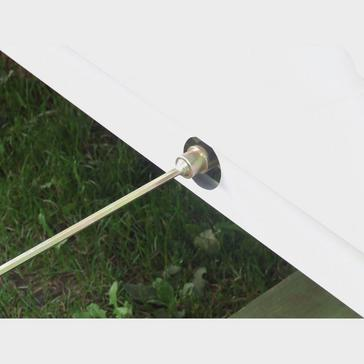 Silver STREETWIZE 30cm Corner Steady Winder Extension Socket