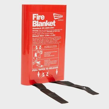 Red STREETWIZE Fire Blanket
