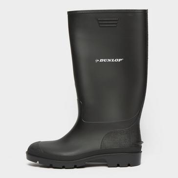 Black Dunlop Pricemaster Wellington Boots