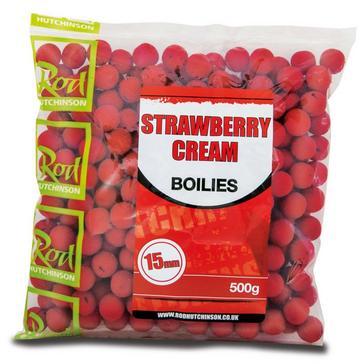 R Hutchinson Strawberry Cream Boilies 15mm (500g)