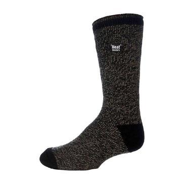 Grey Heat Holders Men's Twist Socks