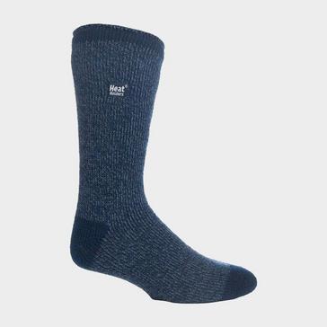 Blue Heat Holders Men's Twist Socks