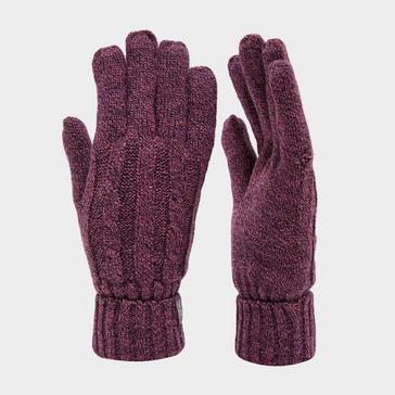 Purple Heat Holders Women's Thermal Glove