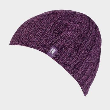 Purple Heat Holders Women's Thermal Hat