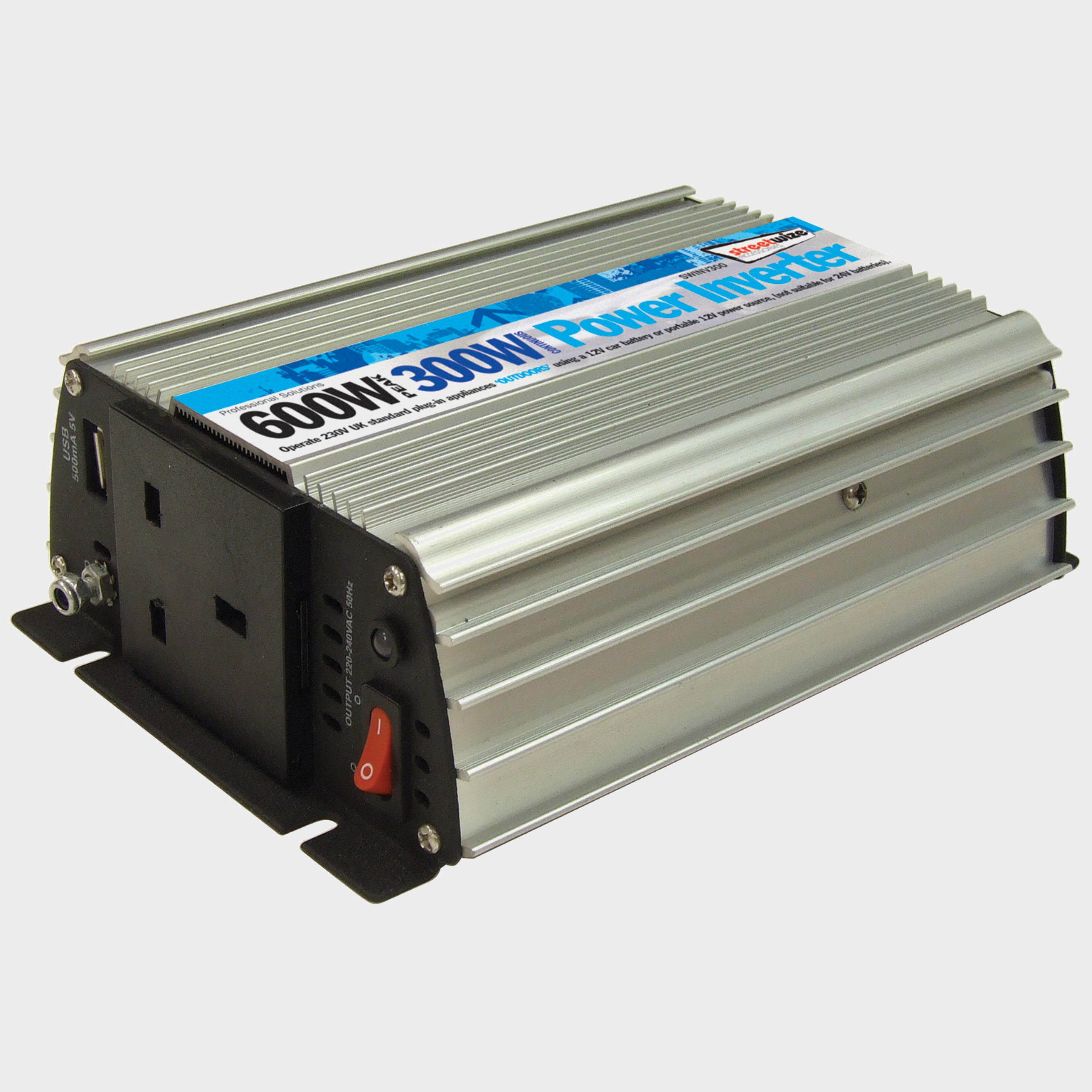 Streetwize 300 Watt Inverter - Silver/[Swinv300], Silver