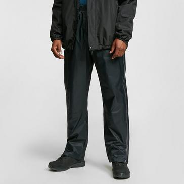 Black OEX Men's Arimo Waterproof Overtrousers