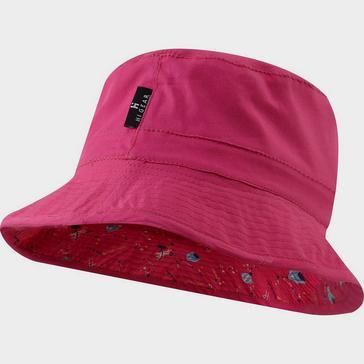 Pink HI-GEAR Children's Reversible Bucket Hat
