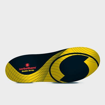 Yellow Sorbothane Double Strike Insole