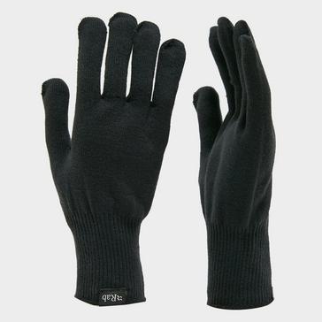 Navy Rab Stretch Knit Gloves