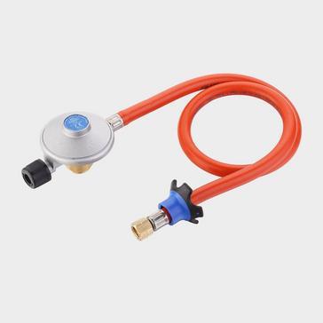 white Cadac EN417 Regulator (and Hose)