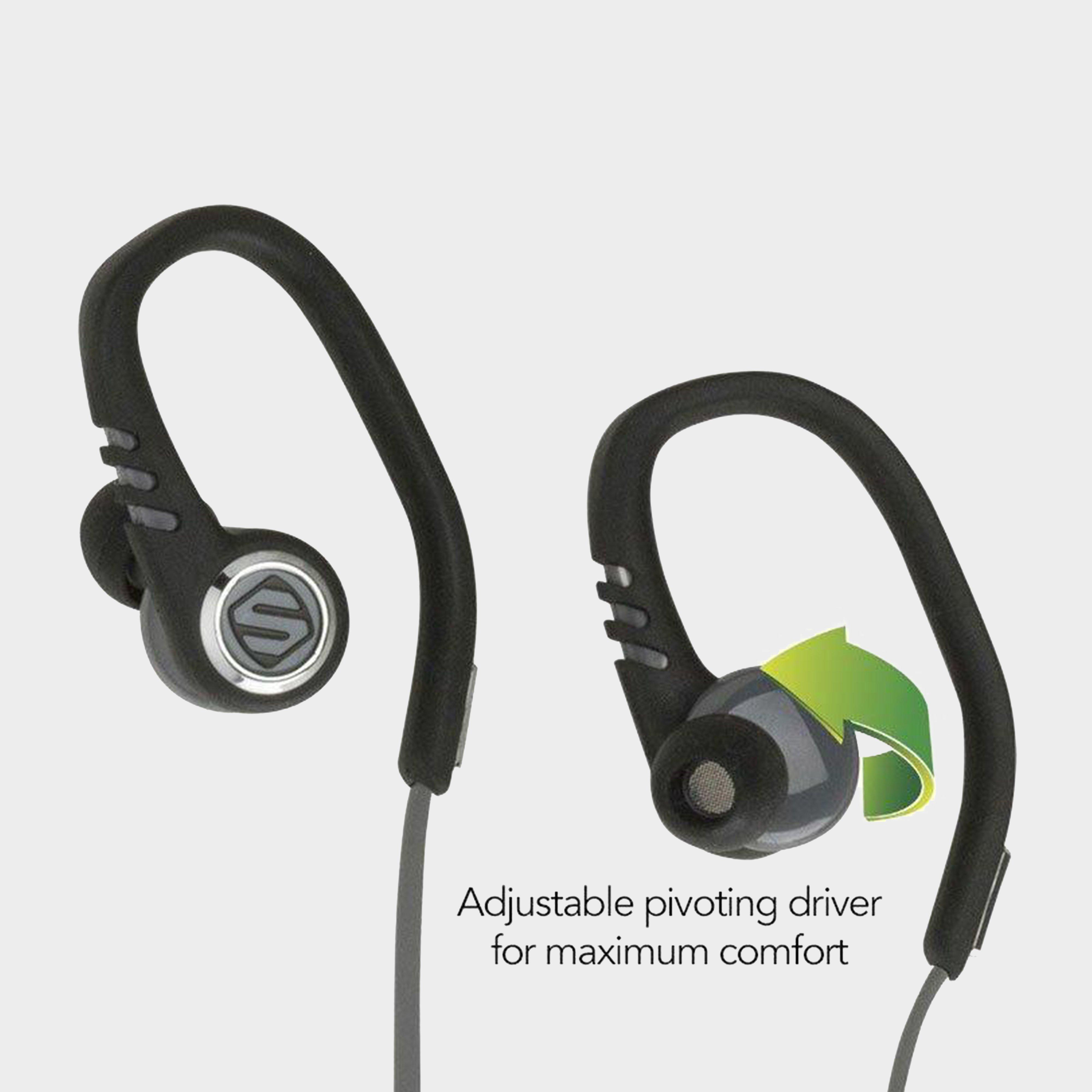 Image of Scosche Sportclip 3 Sport Earbuds - Black/M, black/M