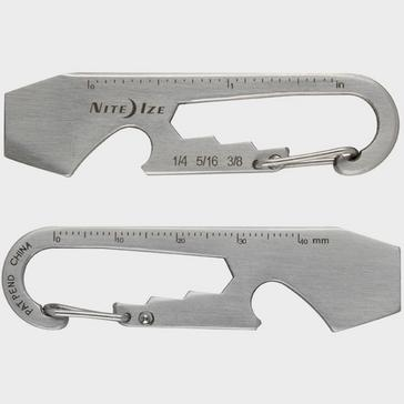 Silver Niteize Doohickey Keytool - Stainless Steel