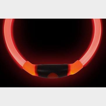 Red Niteize Nitehowl LED Safety Necklace