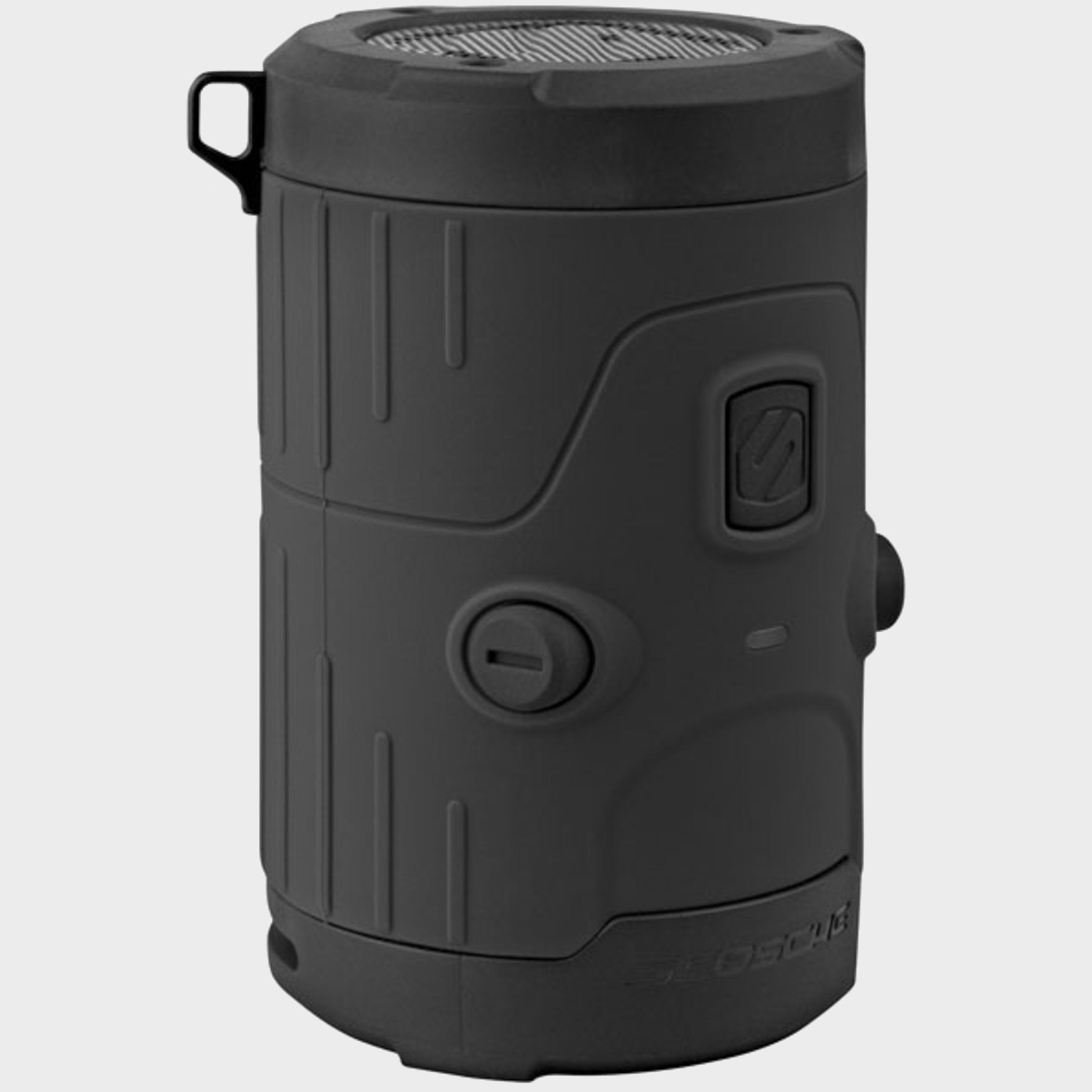 Scosche Boombottle H2O Waterproof Wireless Speaker - Yell - Black/Speaker, Black
