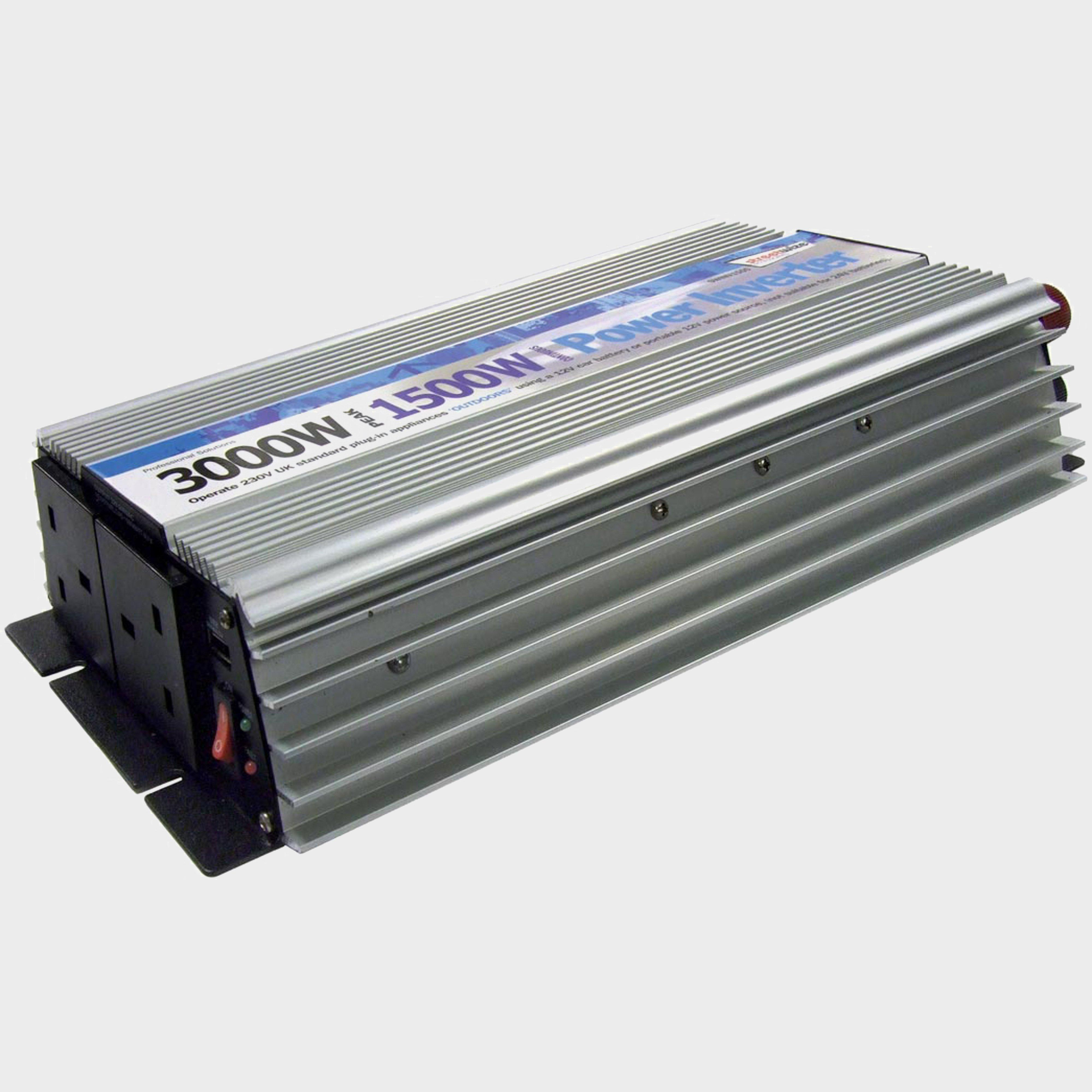 Streetwize 1500 Watt/3000 Watt Peak Power Inverter (With Twin -