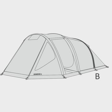 Grey HI-GEAR Rear Air Tube for Horizon 4 Tent