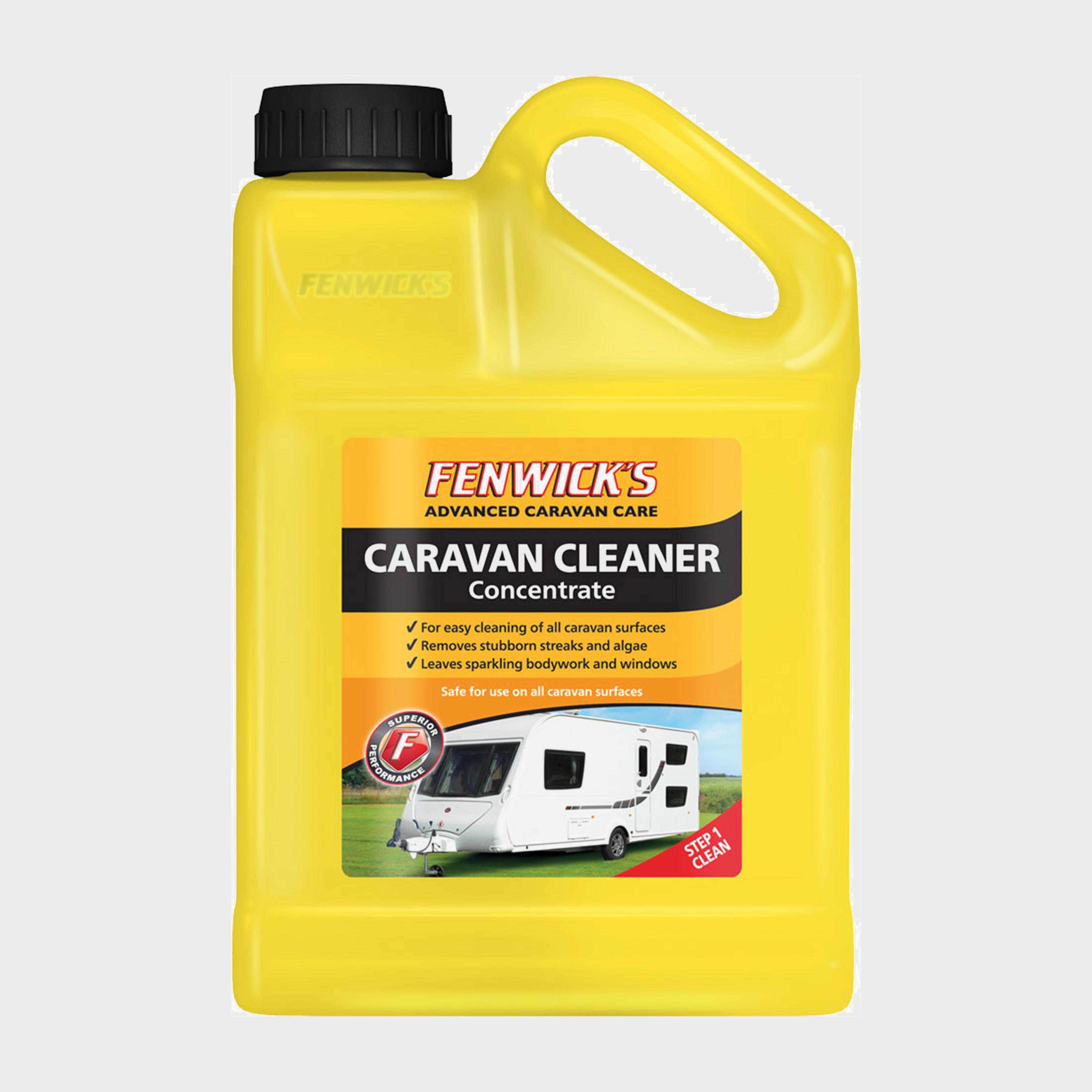 Fenwicks Fenwicks Caravan Cleaner Concentrate (1 Litre) - Yellow, Yellow