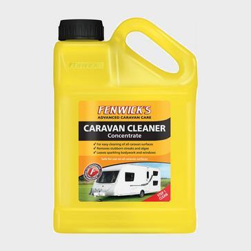 Yellow Fenwicks Caravan Cleaner Concentrate (1 Litre)