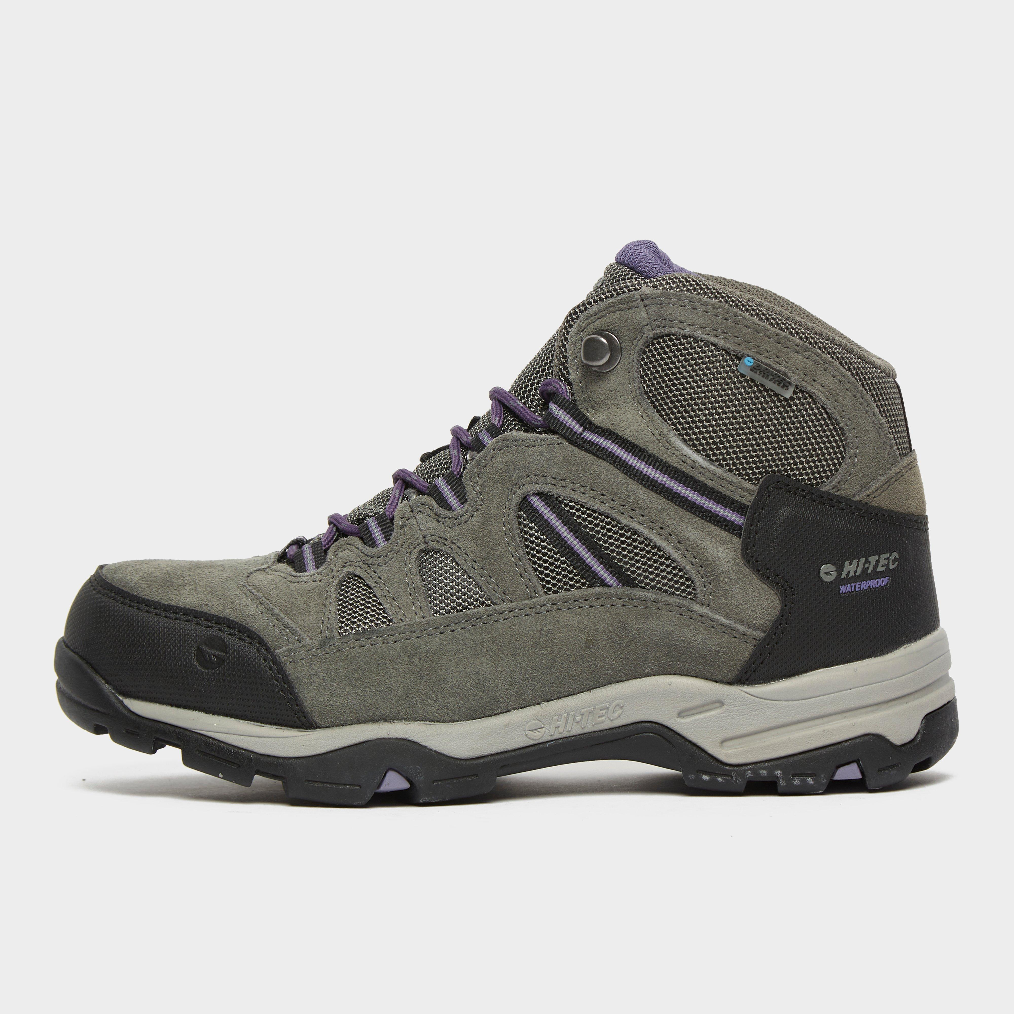 Hi Tec Women's Aysgarth Ii Mid Waterproof Walking Boots - Grey/Womens, Grey