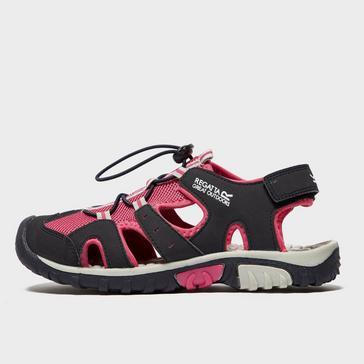 Pink Regatta Kids' Deckside Sandals