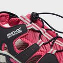 Pink REGATTA Kids' Deckside Sandals image 5