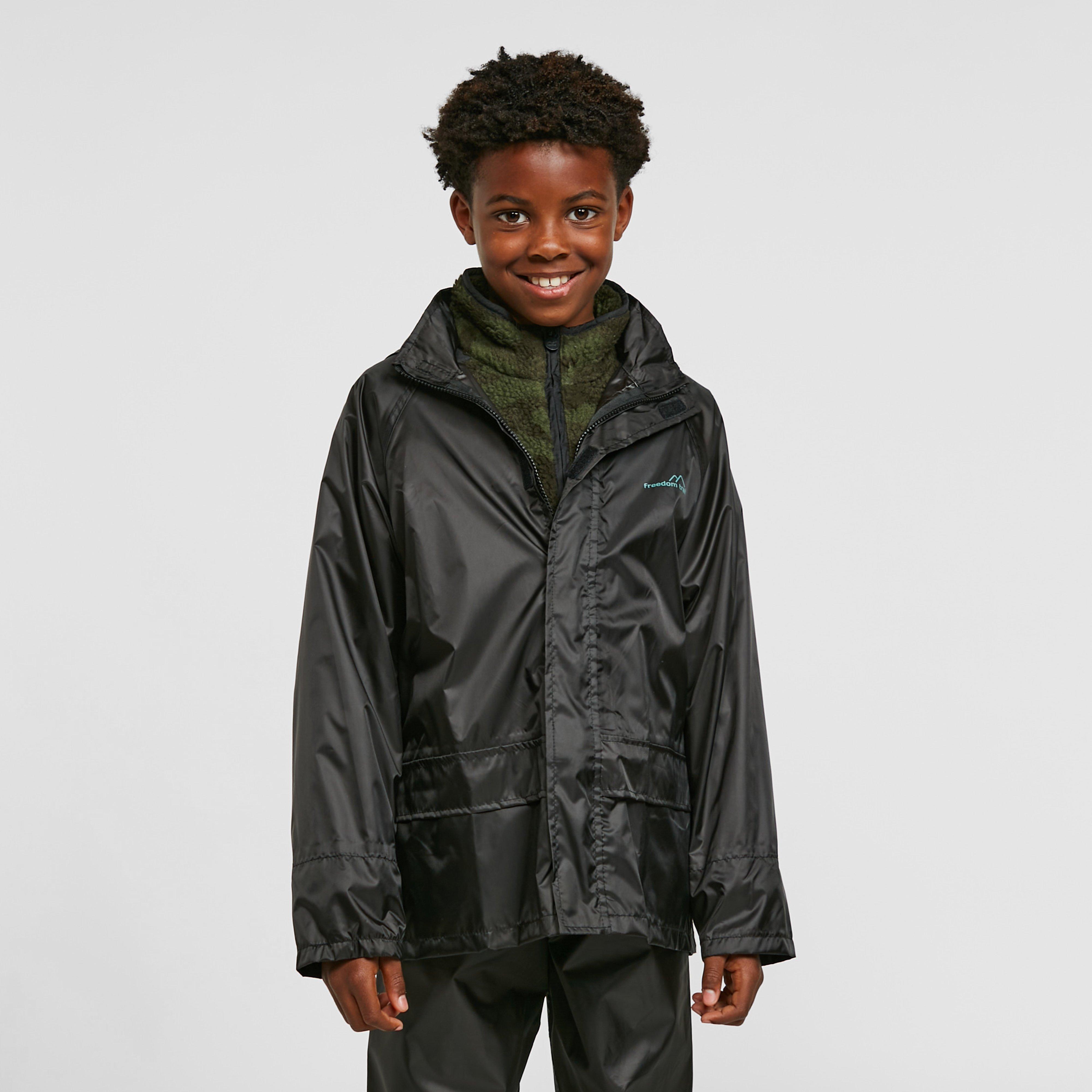 Freedomtrail Freedomtrail Essential Waterproof Suit (Unisex) - Black, Black