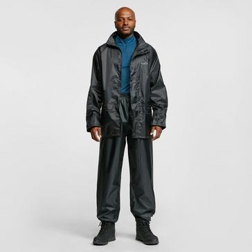 BLACK FREEDOMTRAIL Essential Waterproof Suit (Unisex)
