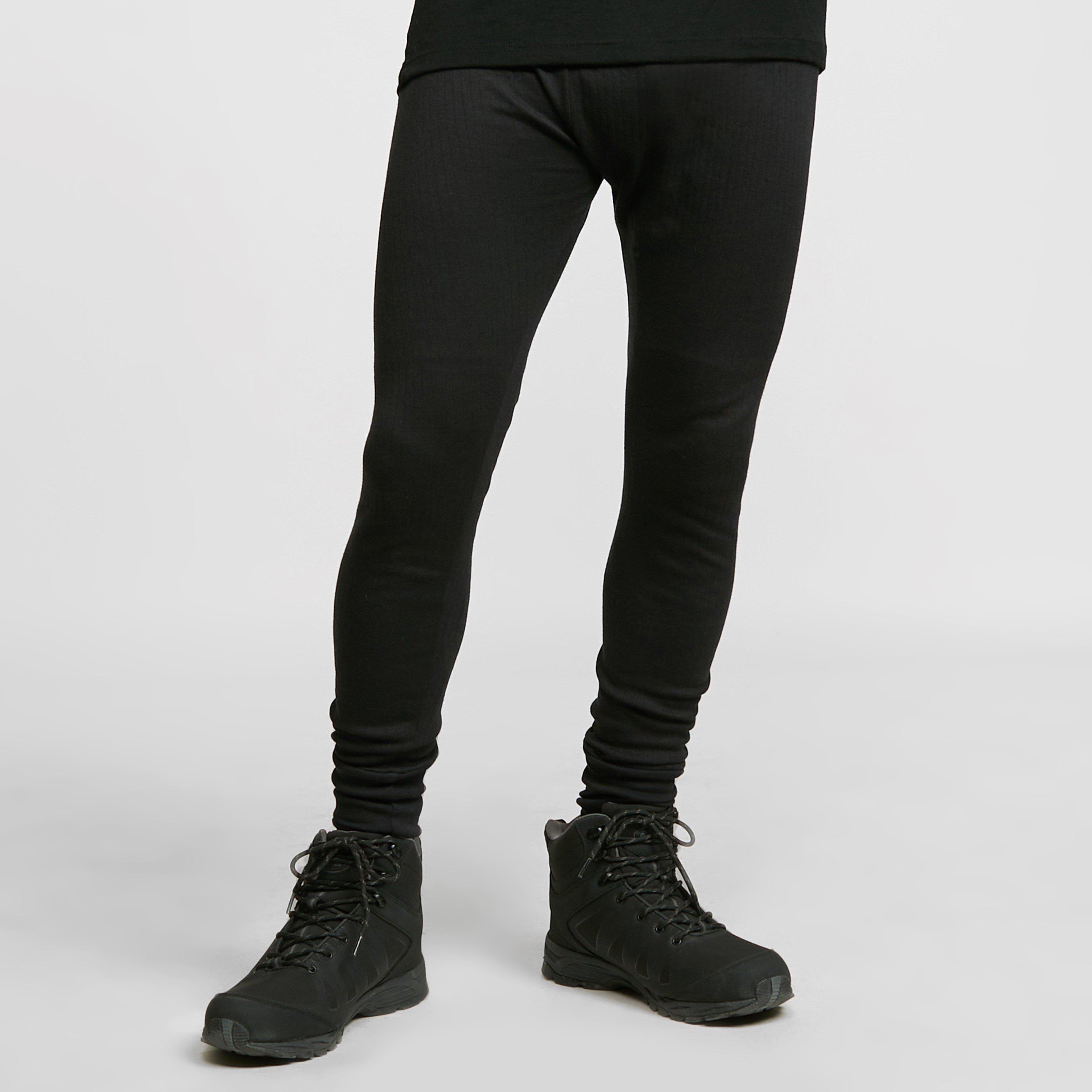 Image of Freedomtrail Thermal Baselayer Long Johns (Unisex) - Black/Black, Black/BLACK