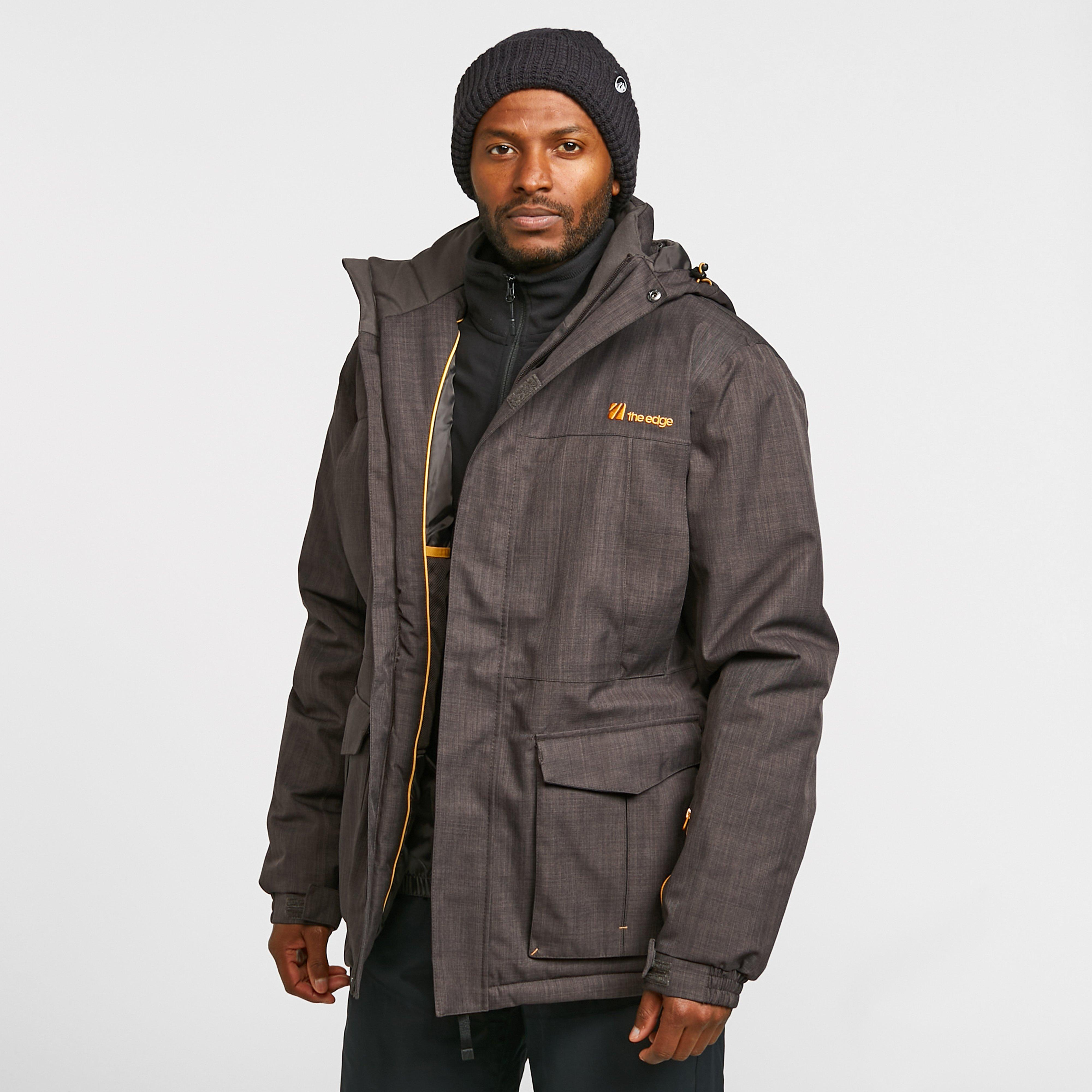 The Edge Men's Blackcomb Parker Jacket - Grey, Grey